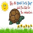 A Nice World Turtle Day® Card.