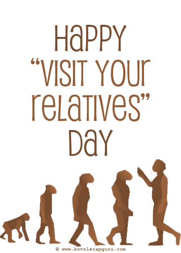 Visit Your Relatives - Evolution Card.