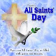 All Saints' Day Message Ecard.