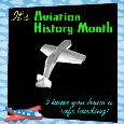 My Aviation History Month Card.