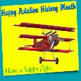 A Nice Aviation Month Card For You.