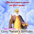 Guru Nanak's Birthday Blessings...
