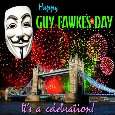 Guy Fawkes Day Celebration.