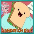 A Yummy Sandwich Day Treat.