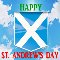 Have A Happy St. Andrews Day.