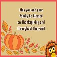 Thanksgiving Blessings!