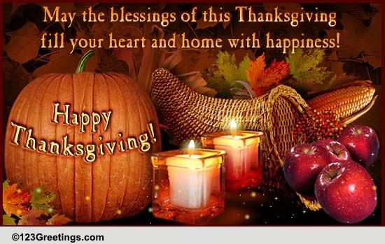 A Thanksgiving Wish Quote: Thanksgiving Friends Cards, Free Thanksgiving Friends
