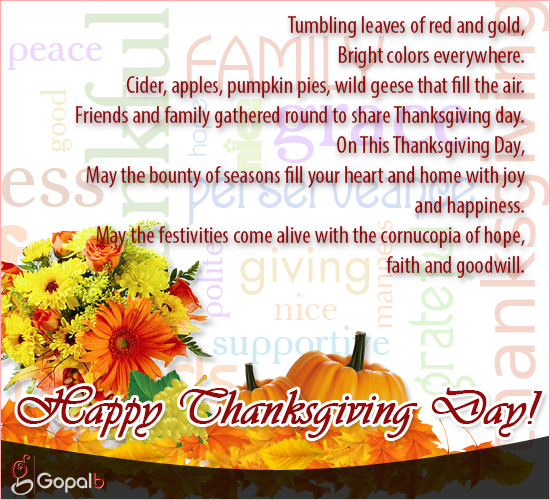 Happy & Blessed Thanksgiving!