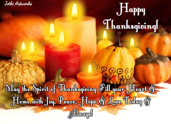 Send Thanksgiving Ecard!