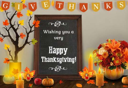 Send ThanksgivingEcard!