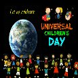 Celebrate Universal Children's Day.