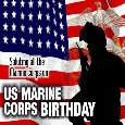 Saluting All The Marine Corps...