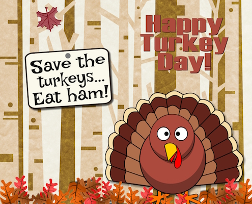 A Turkey's Fervent Wish!