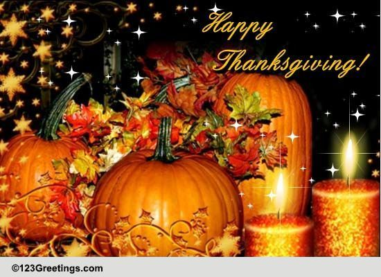Joy And Blessings Of Thanksgiving. Free Happy Thanksgiving ...