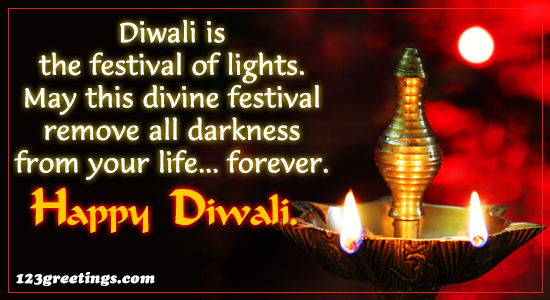Diwali Is A Festival Of...