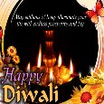 A Happy Diwali Message Card.