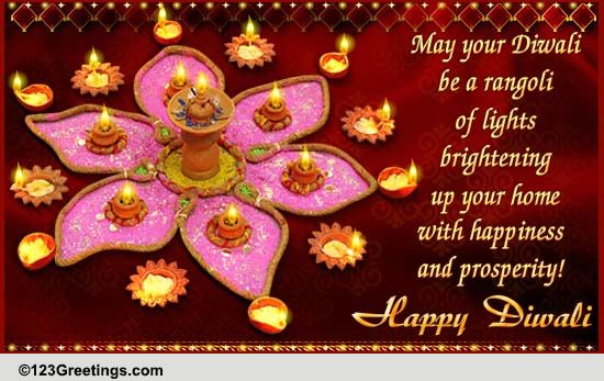 Download Diwali Hd Wallpapers 2016: Diwali Rangoli Cards, Free Diwali Rangoli Wishes, Greeting