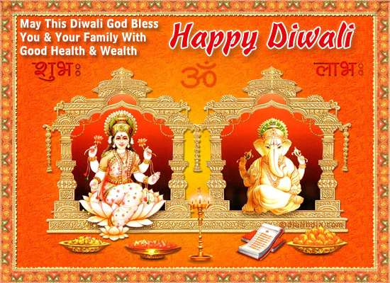 Sending You Diwali Blessings!