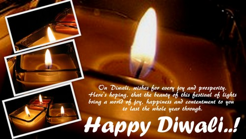 Wishes For A Happy Diwali!