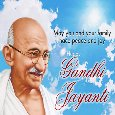 A Happy Gandhi Jayanti Card For You.