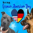 A Happy German American Day Ecard.