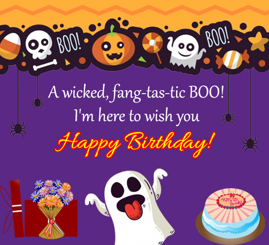 Boo Birthday...