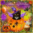 Cute Halloween Birthday....