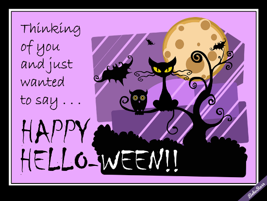 Happy Hello-ween!