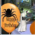 Spooktacular Birthday Wishes!