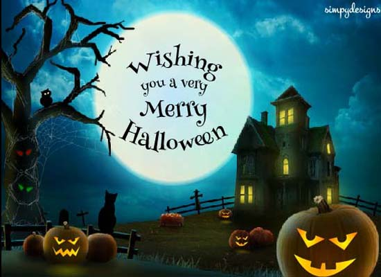 Send Merry Halloween Wishes!