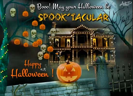 Happy Halloween Cards, Free Happy Halloween Wishes, Greeting Cards   123  Greetings