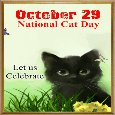 National Cat Day Ecard.