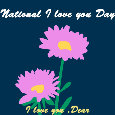 National I Love You Day, Flowers