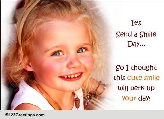 Send Smile Day Ecard!