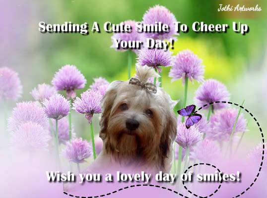 Send A Smile Day Card!
