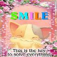 Smile... The Key To Solve Everything.
