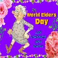 Celebrate World Elder's Day.