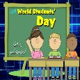 Celebrate World Students' Day.