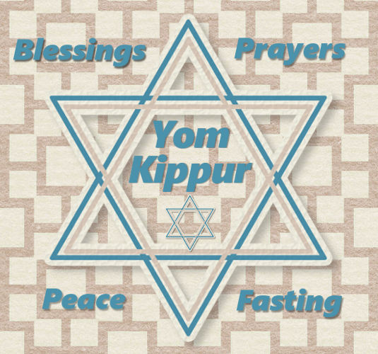 Yom Kippur Star Of David.