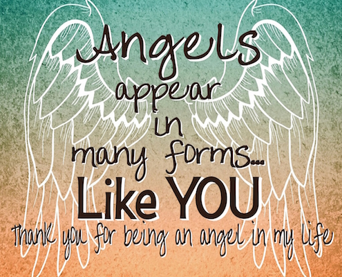You're An Angel In My Life.