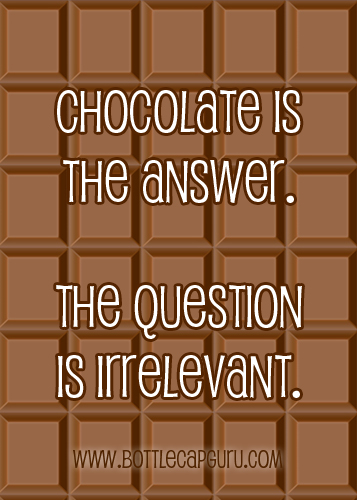Chocolate Is The Answer...