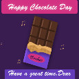 Happy Chocolate Day, Bar