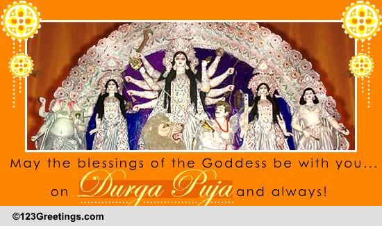 durga puja cards  free durga puja wishes  greeting cards