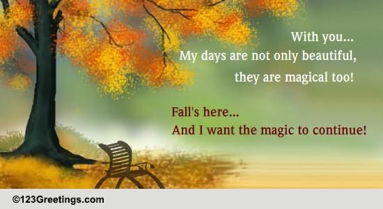 Send Autumn Greetings!
