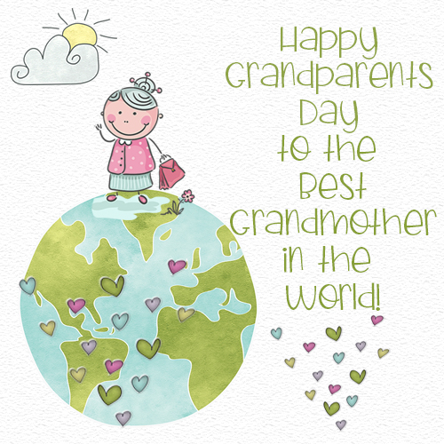 Happy Grandparents Day To Grandmother.