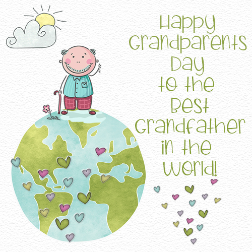 Happy Grandparents Day To Grandfather.