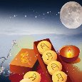 Best Wishes With The Moon Cake.