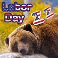 Labor Day And Bear