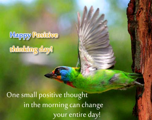 Send Positive Thinking Day Wishes!