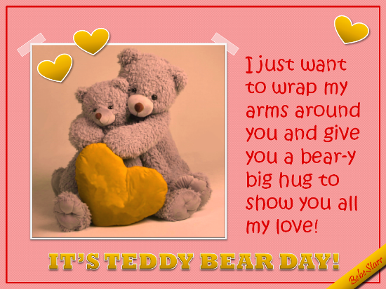 Beary Big Hug.